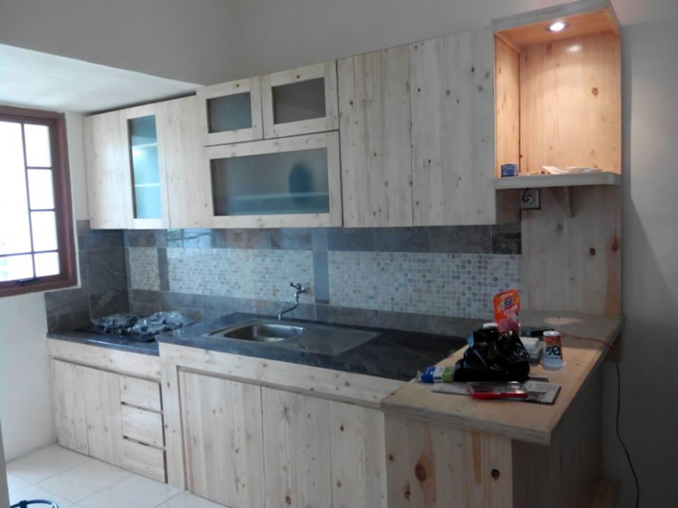 Hita karya furniture for Kitchen set kayu jati belanda