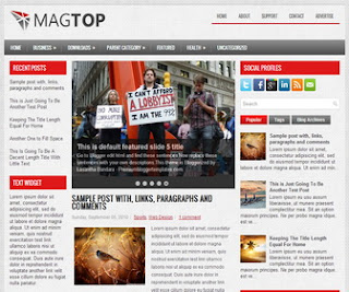 MagTop-Blogger-Template