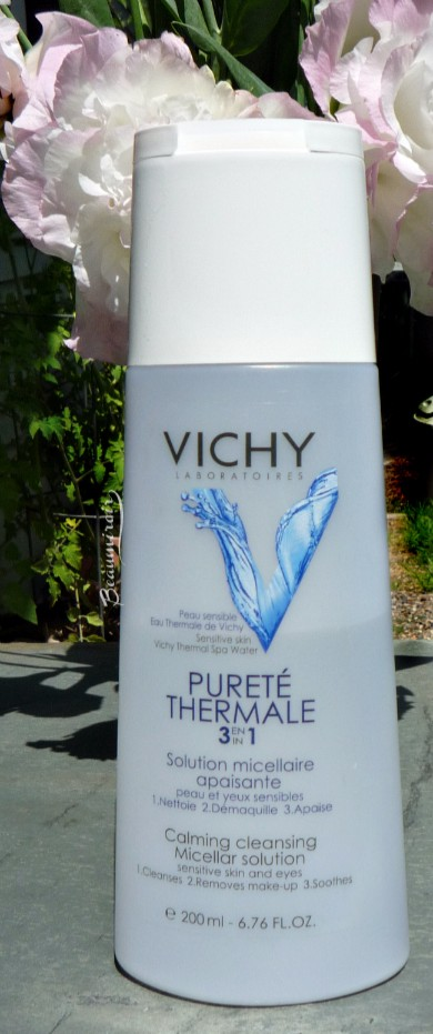 Vichy's micellar water, Pureté Thermale 3-in-1 Calming Cleansing Micellar Solution review