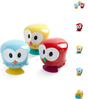 The Ultimate Fun Foodie-Friendly Gift List - Owl kitchen timers