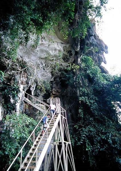 Gua batu dan gua Mimpi