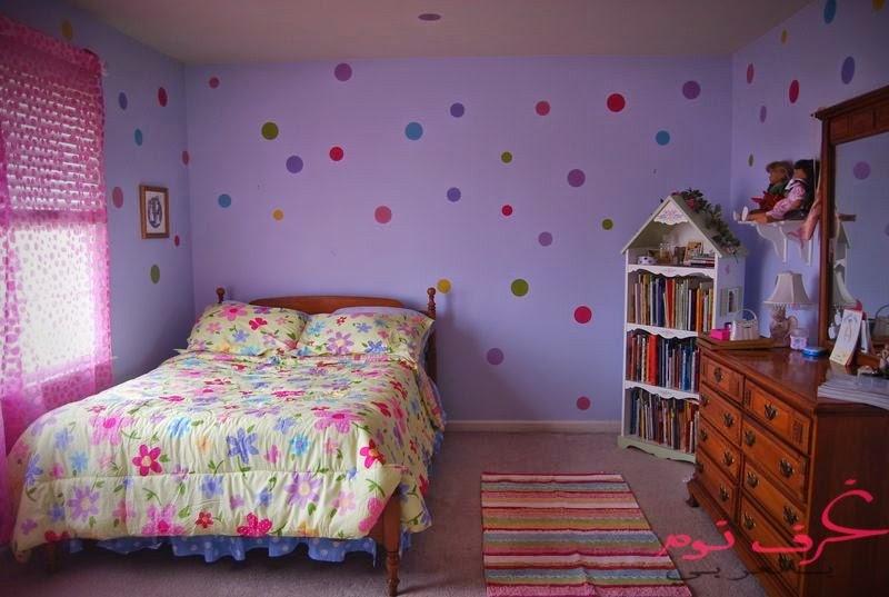 تصميمات غرف نوم الاطفال باللون البنفسجي مجلة غرف نوم