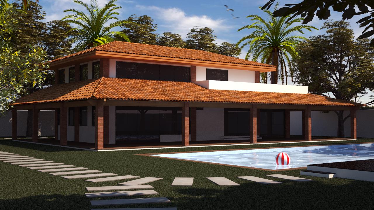 Fotos e modelos de casas de campo para construir for Modelos de piscinas de campo