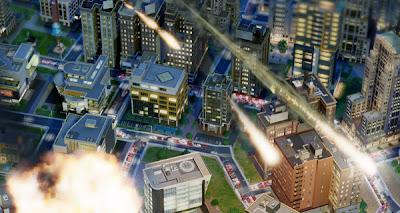 simcity 5 2013 meteorites disasters