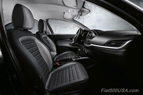 Fiat Aegea Front Seats