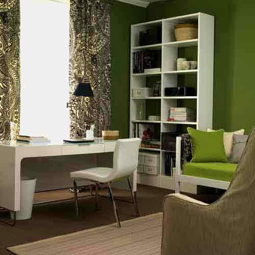 decora o ideias para home office ou quarto de estudos cores da