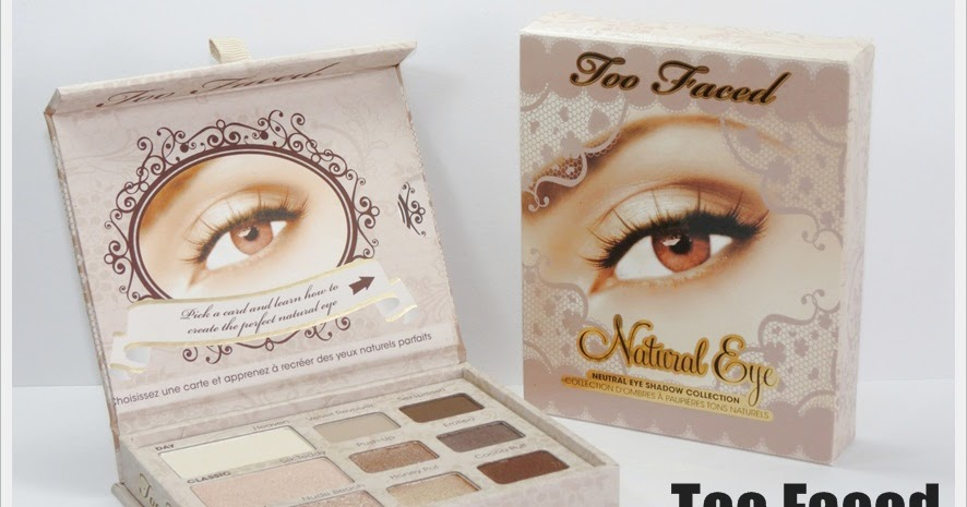 Too Faced Natural Love Story