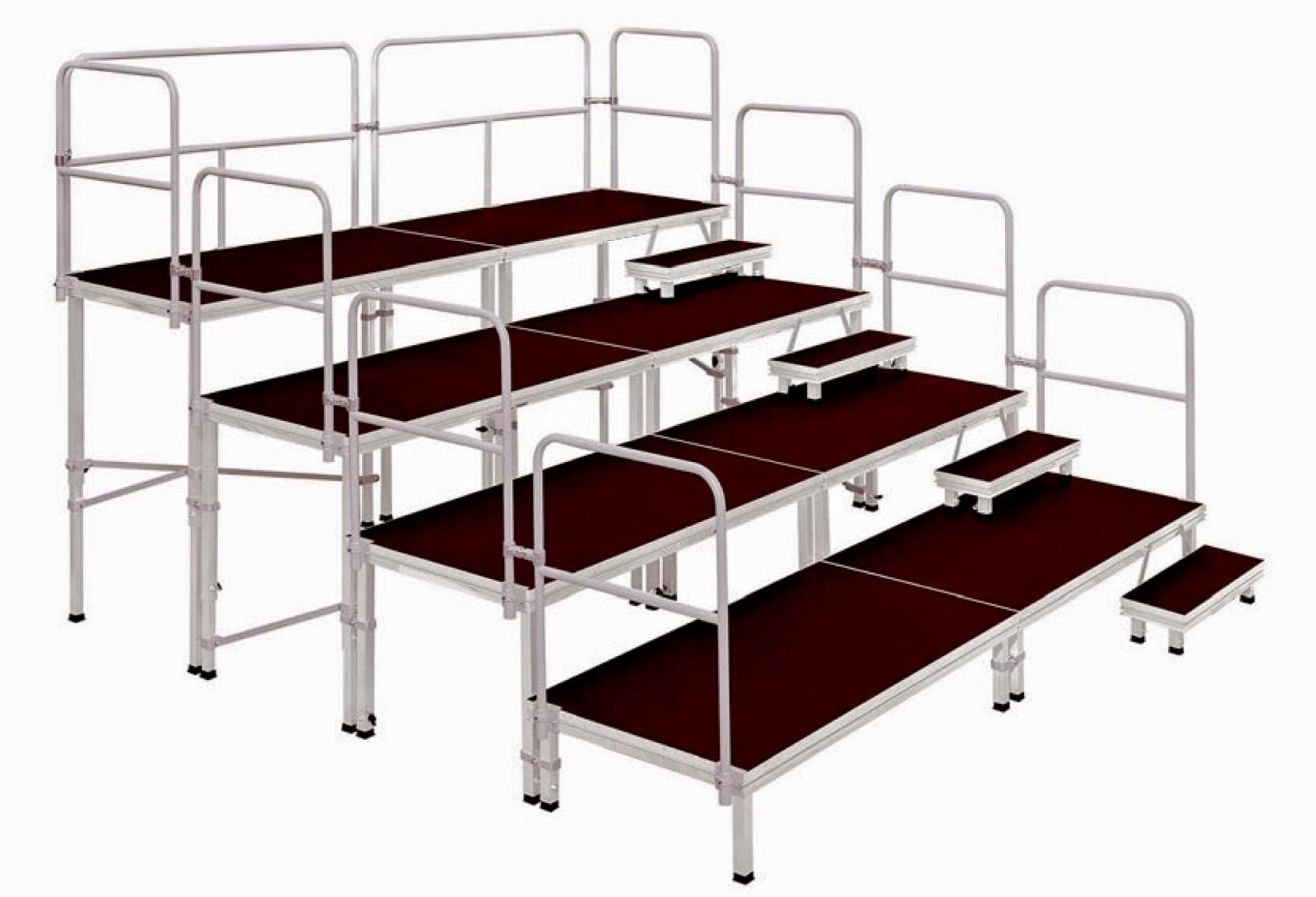 Siluj gradas modulares for Gradas para exteriores