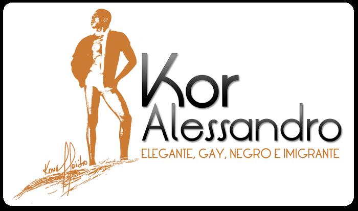 Elegante, Gay, Negro e Imigrante