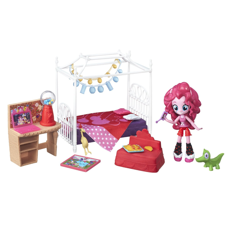 listing pinkie pie equestria girls minis slumber party bedroom set