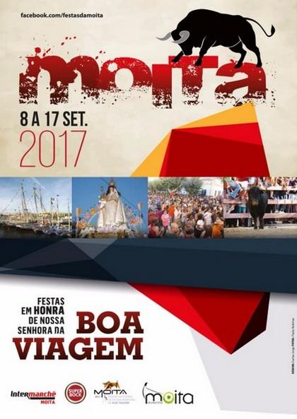 MOITA DO RIBATEJO : Festas em Honra de Nª Srª da Boa Viagem  2017