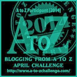 A to Z Blog Challenge Badge