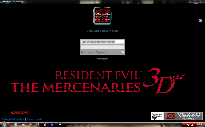 Download Skin-Msn 2009 - Resident Evil The Mercenaries 3D