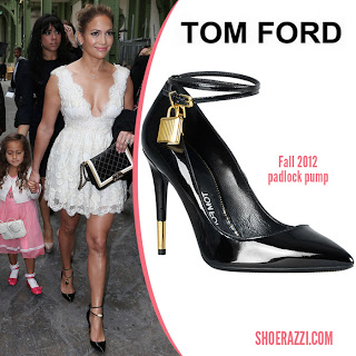 Tom Ford's Padlock Pumps