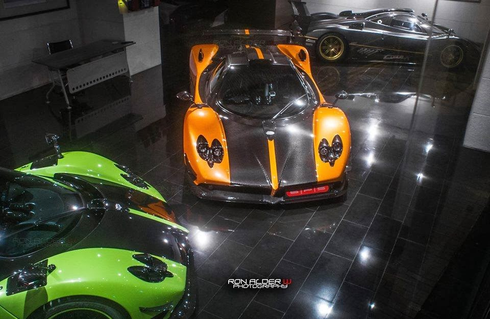 Prototype 0 Two Pagani Zonda Cinque Spotted At The Dealer Sps