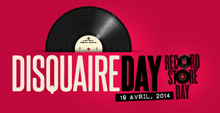 Disquaire Day 2014 art sound vinyle