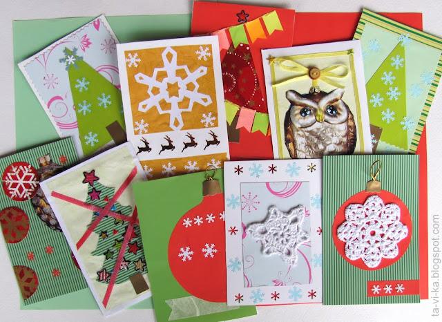 новогодние открытки - NY card