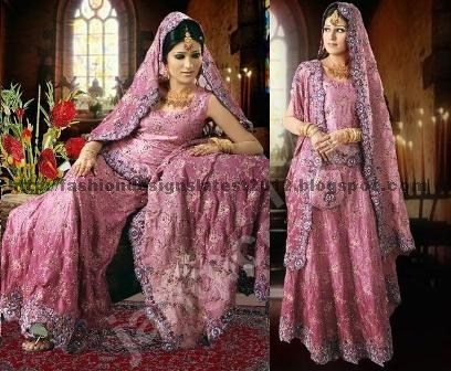 Pink-indian-wedding-dress