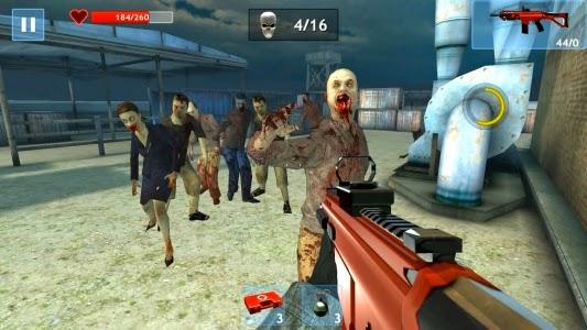 لعبة الأكشن استهداف الزومبي للاندرويد - Zombie Objective