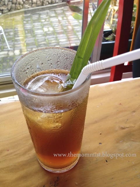Iced tea with lemongrass