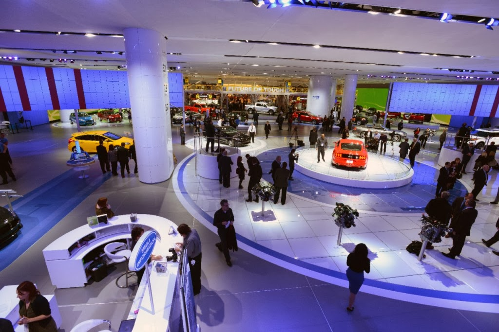 Ford Brings a Remarkable Display to the 2014 NAIAS