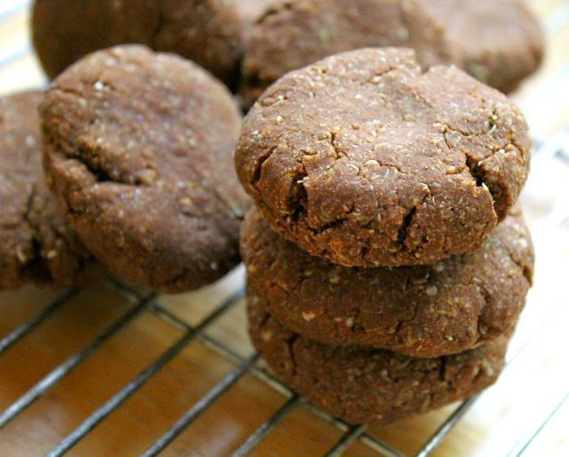 Soft Spiced Cocoa Pumpkin Cookies from Rebecca at Strength and Sunshine