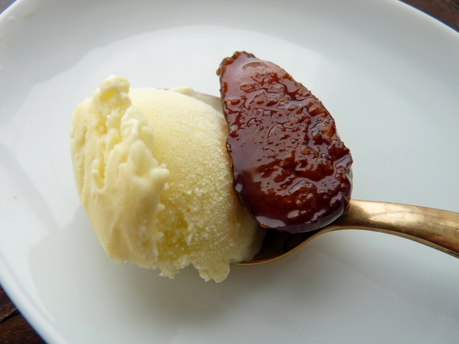pastry studio: Roasted Figs with Fennel Ice Cream