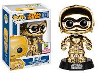 Funko Pop! C-3PO Gold