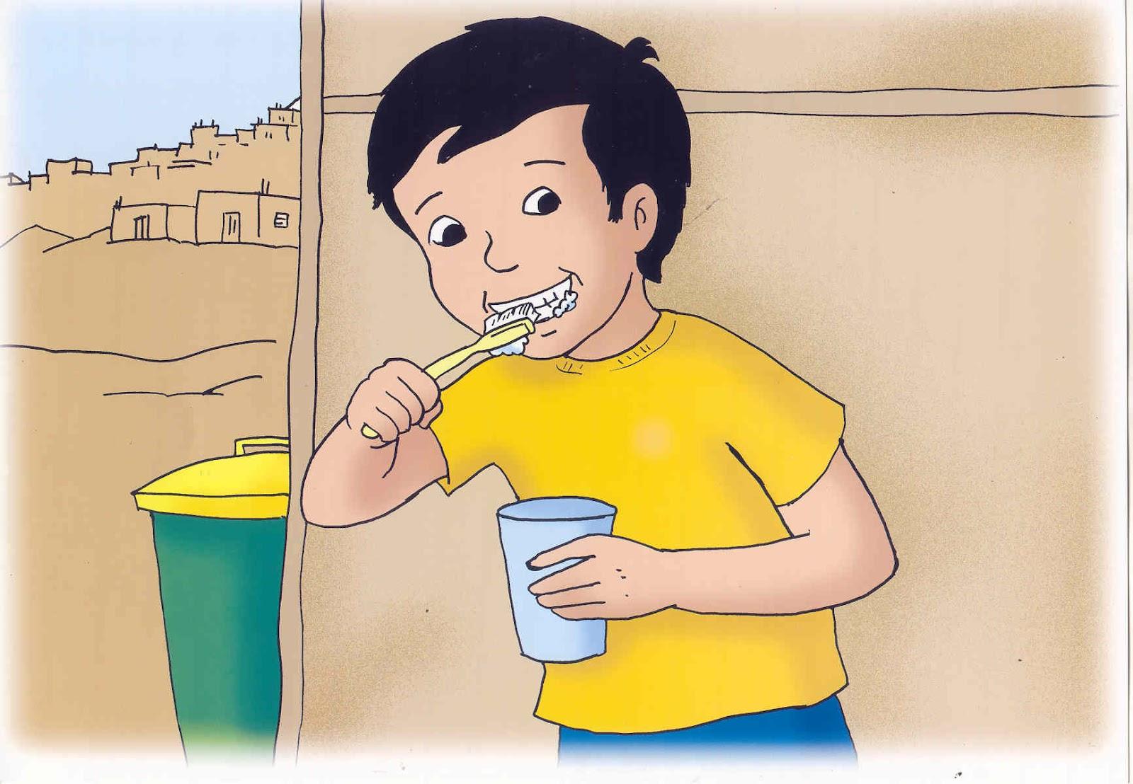 Risitas aprendiendo a ahorrar el agua - Maneras de pintar ...