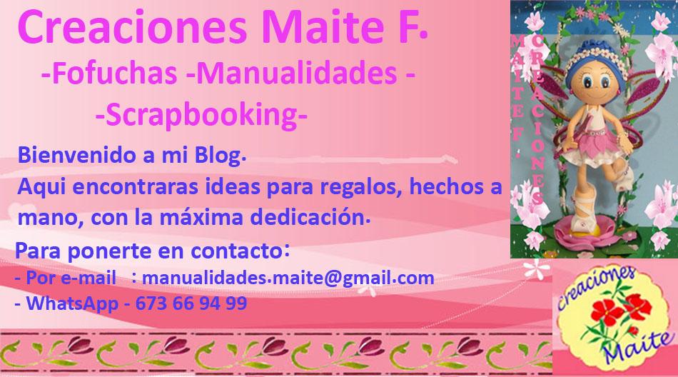 Manualidades y Creaciones Maite F.