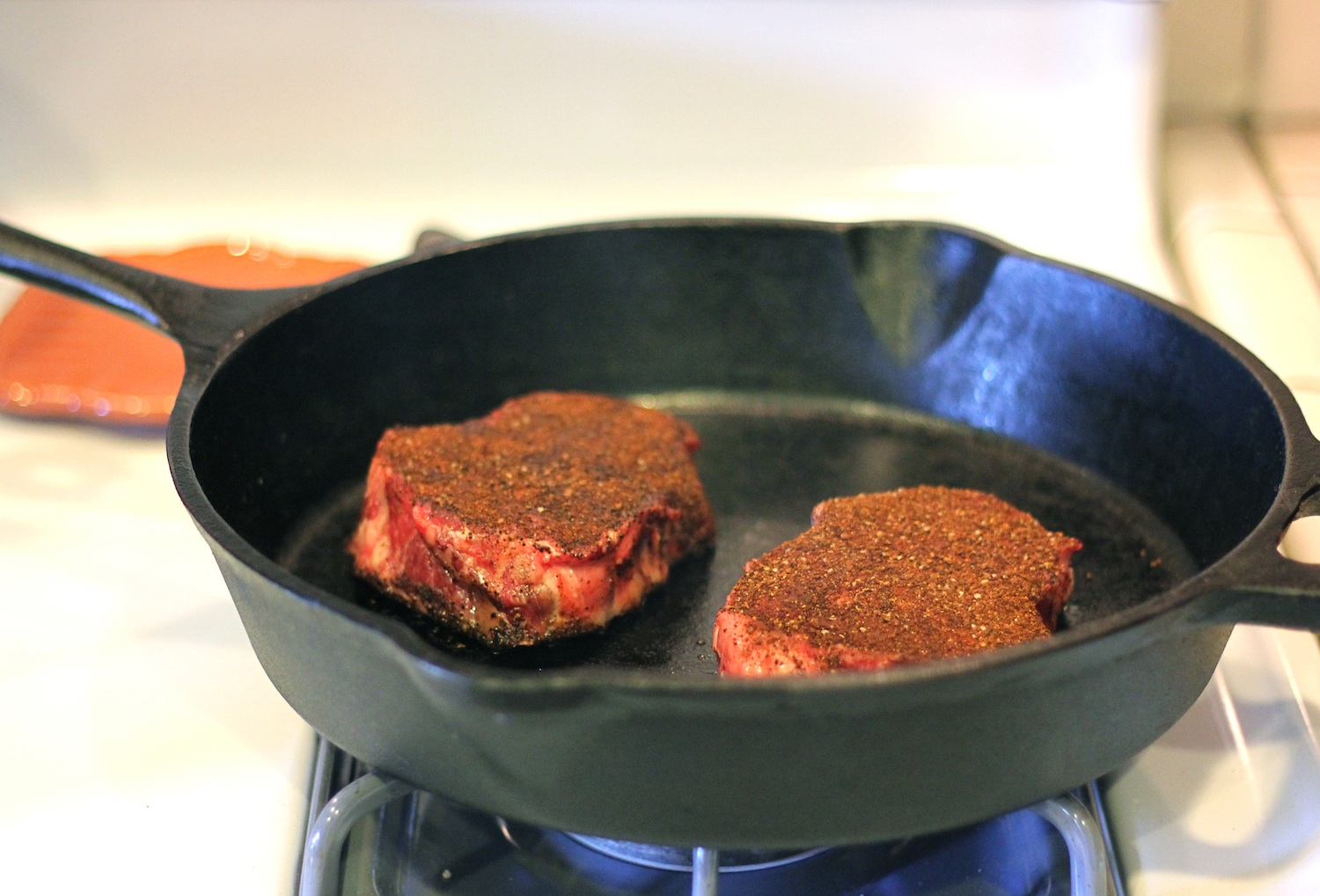 The Lucky Penny Blog: Coffee Rubbed Steak