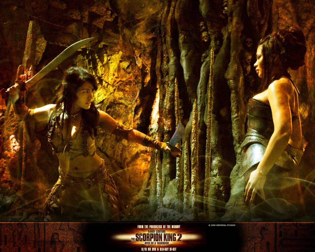 The scorpion king 2 rise of a warrior posters 2008