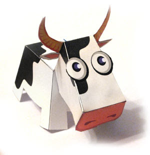 how to make a cow out of dohvinci 3d