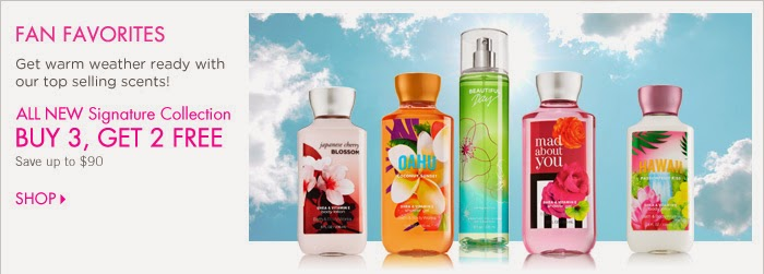 Bath & Body Works Coupons 2014