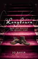 Hardback UK book cover of Longbourn by Jo Baker