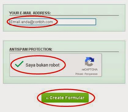 Cara Membuat Contact Form Atau Contact Us di Blogger