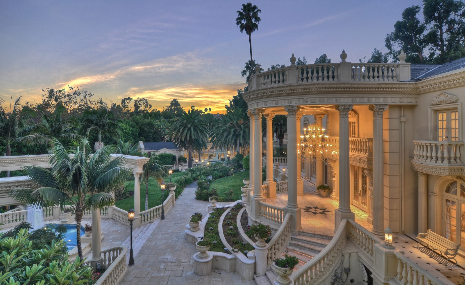 Homes Mansions Bel Air Palace On The Market For 22 500 000