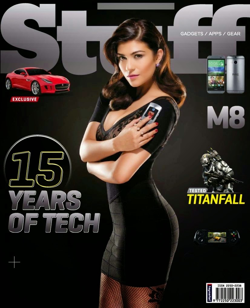 Archana Vijaya Stuff Gadgets Magazine May 2014 Photos