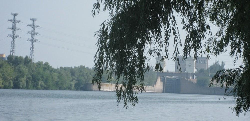 шлюз Каховской ГЭС