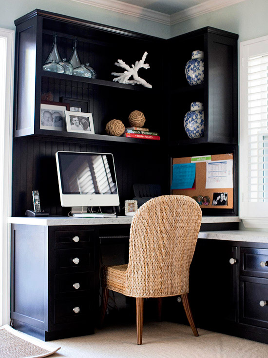 Modern furniture 2013 home office storage ideas for Small space office solutions