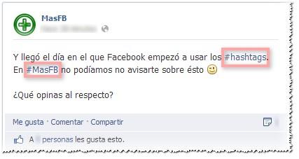Facebook Hashtags 2013
