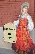 Historia on hauskaa!