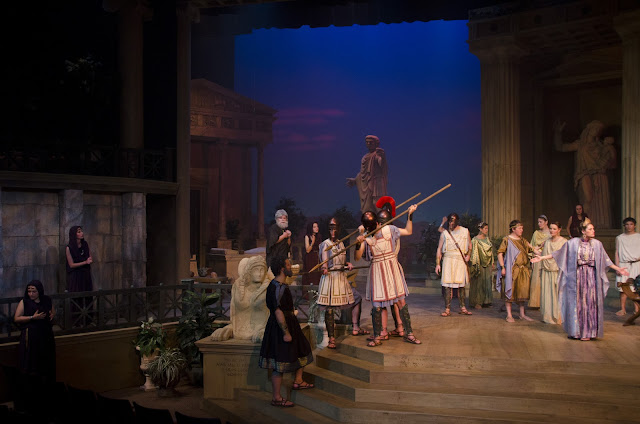 analyzing the irony in the play oedipus Dramatic irony in oedipusin the play written by sophocles, oedipus the king, there are several instances of irony dramatic irony, or tragic irony as some critics.
