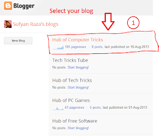 How to add Code Box in blogger posts