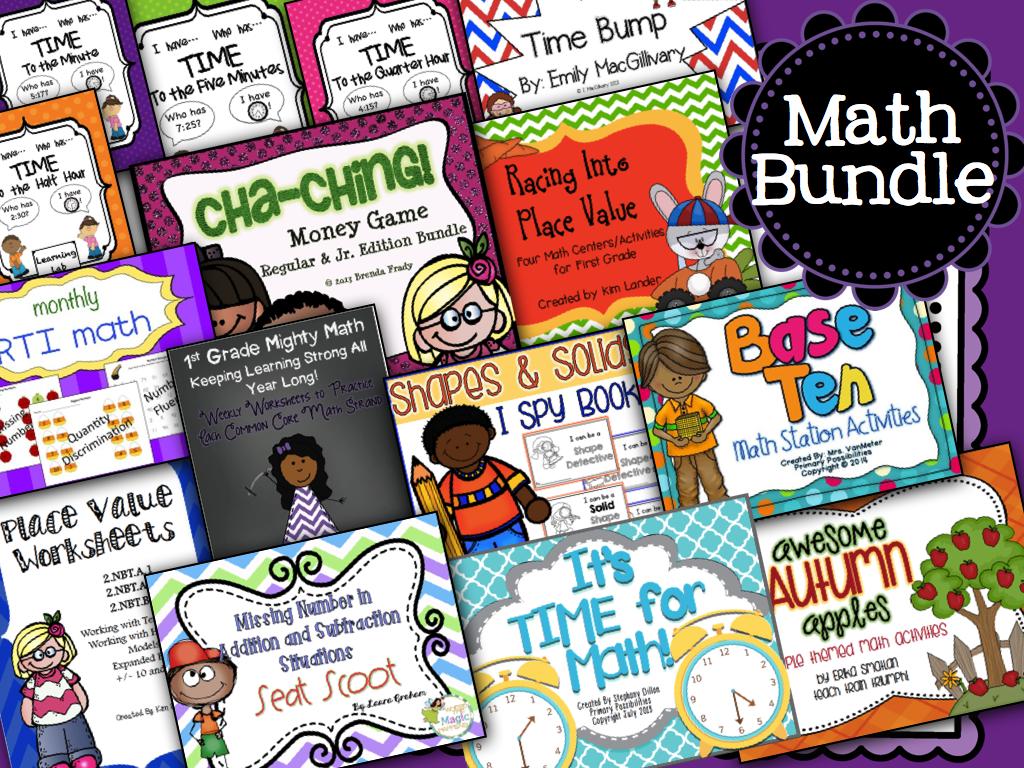http://www.teacherspayteachers.com/Product/Teachers-for-Taytum-Math-Bundle-March-of-Dimes-Fundraiser-1164365