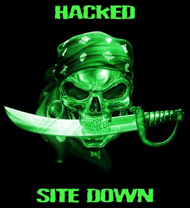 hacking a website: