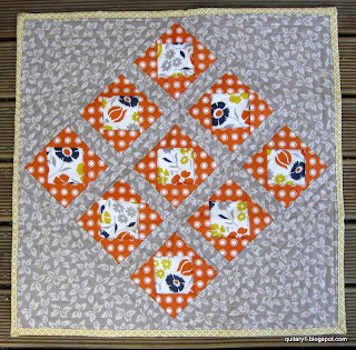 front of the DSDQ swap quilt