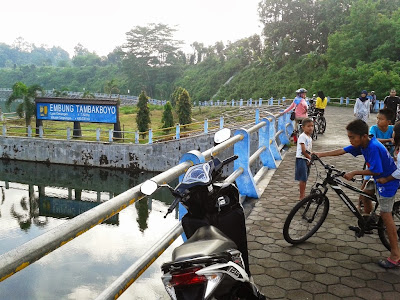 Pengunjung di Tambakboyo