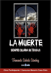 MI NUEVO POEMARIO: LA MUERTE SIEMPRE CULMINA SU TRABAJO    ISBN: 978-84-15178-39-2