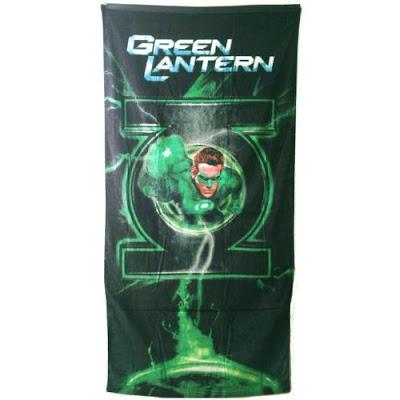 dc comics green lantern beach towel description dc comics green